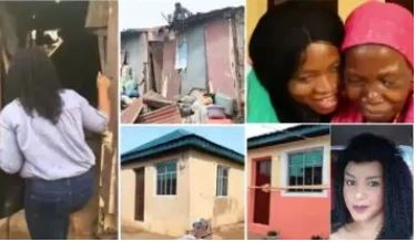 Female Pastor Builds House For 72-year-old widow Abandoned By Her Son