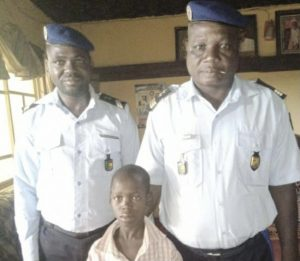 Shocking! Kidnapped 12-Year-Old Boy Discovered Inside Coffin Covered With White Cloth In Kwara