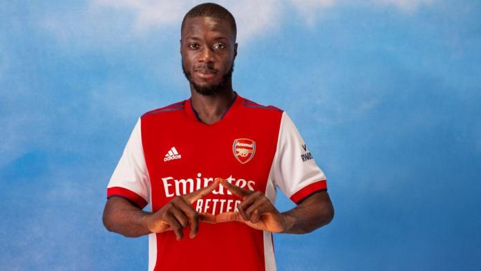 Arsenal unveil their home jersey for the 2021/2022 season