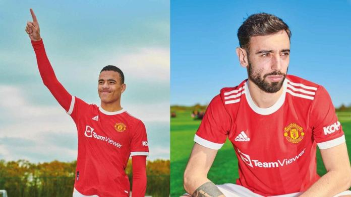Adidas unveils Manchester United home shirt for 2021-2022 season