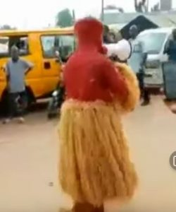 Masquerade Spotted Preaching The Gospel Of Jesus Christ (Video)