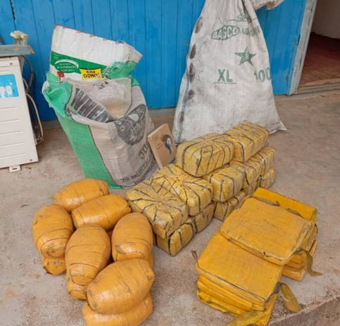 NSCDC Arrests 30-year-old Man In Possession Of 35Kg Marijuana