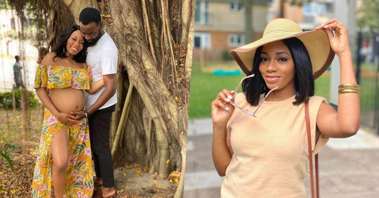 """""""Happiest man on earth"""" – Gedoni says as Khafi flashes her baby bump"""