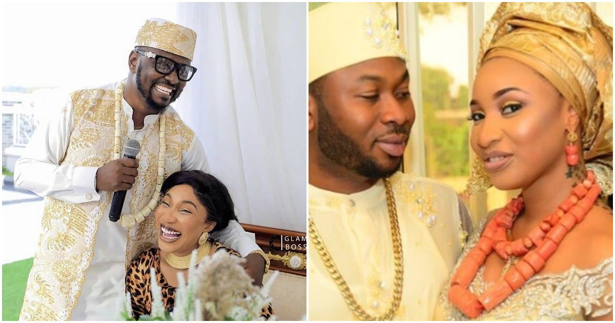 """""""You are talking nonsense"""" – Tonto slams a lady who accused her of misleading women after her failed marriage"""