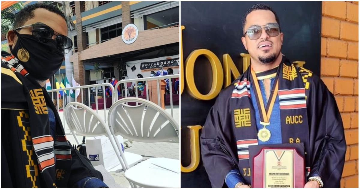 Actor Van Vicker finally graduates with first-class, 21 years after his mates got admission