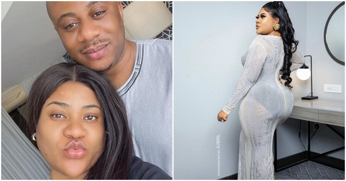 """""""Let her belle be big, I will manage"""" Nkechi Blessing's husband, Opayemi tells gym instructors"""