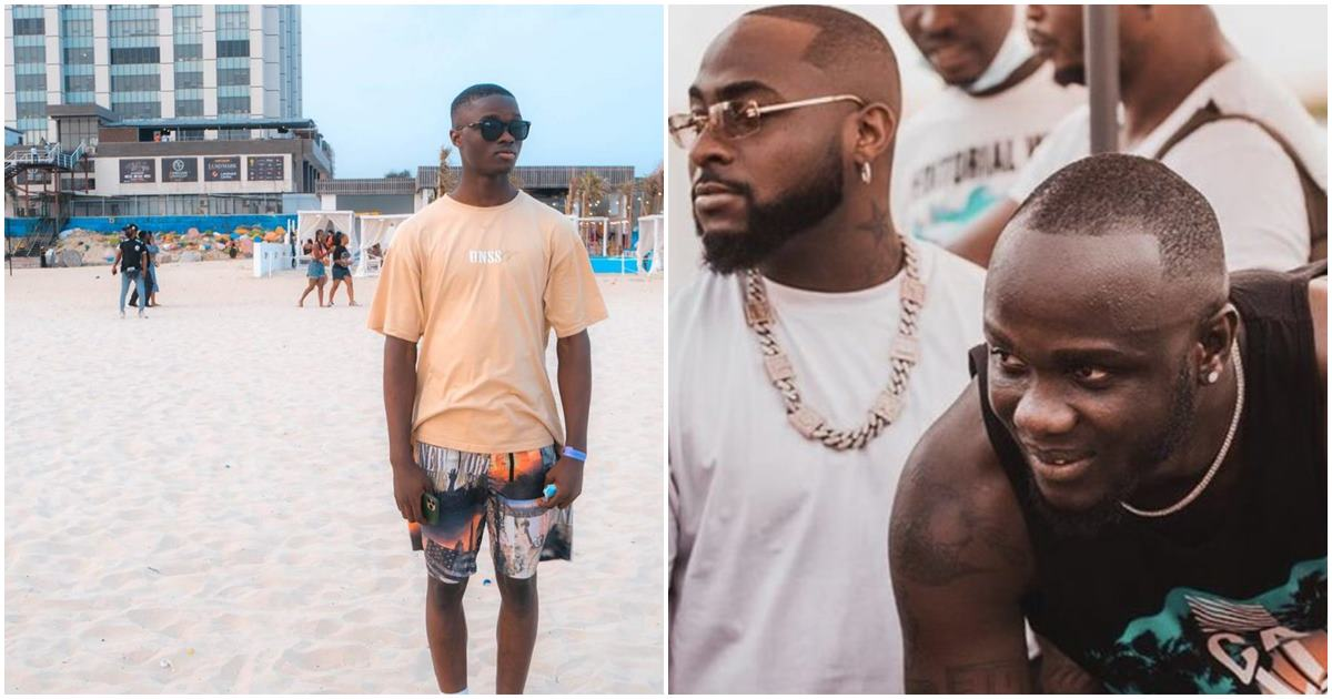Davido fulfills promise as he secures a job for late Obama DMW's son in his father's company