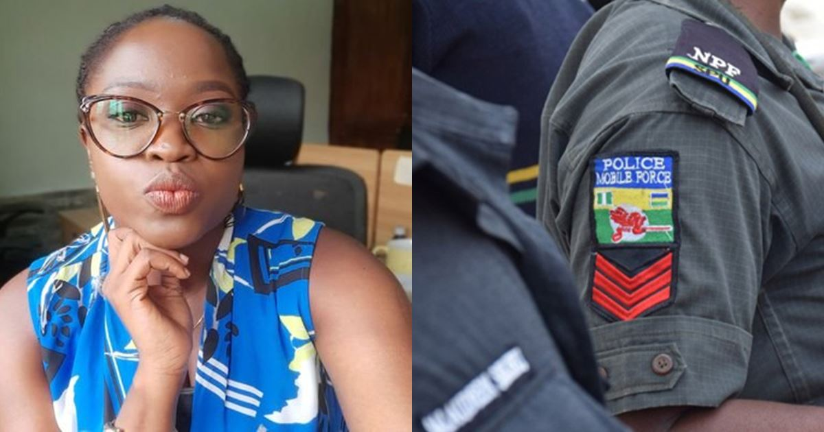 Lady narrates encounter with policewoman who fell out with her because she presented her papers to her with left hand
