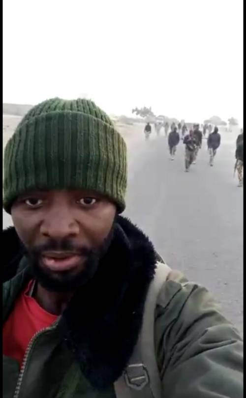 Nigerian Army Lied; My Husband Wasn't Fake Policeman – Wife Of Suspect Arrested In Borno Shares Video Evidence
