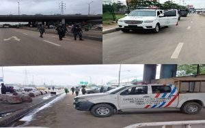 BREAKING: Heavy Security Presence Over Planned Rally In Lagos
