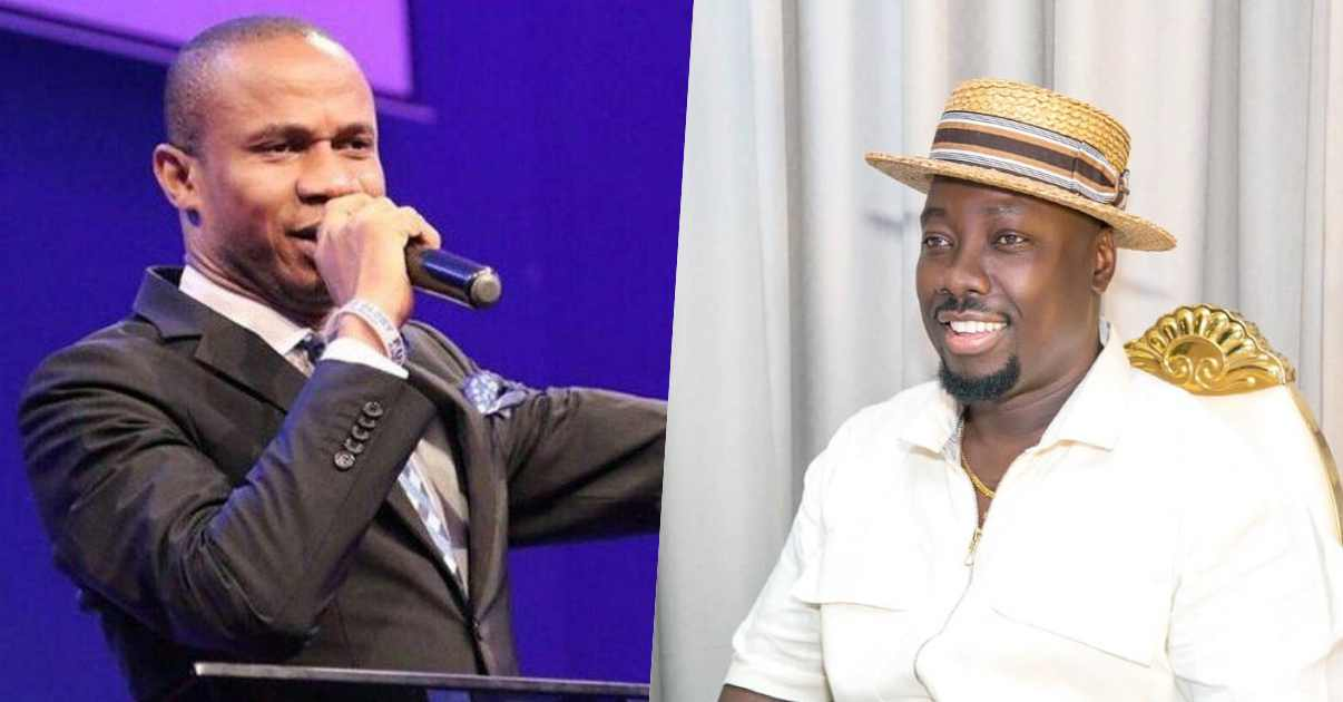 Pastor Ntia apologizes to Obi Cubana after dragging him for lavishing money during burial (Video)