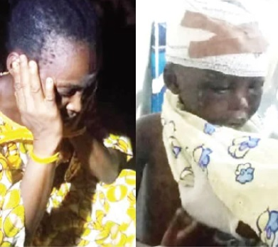 Woman Arrested For Locking Up 5-year-old Nephew For 6 Months In Lagos (Photo)