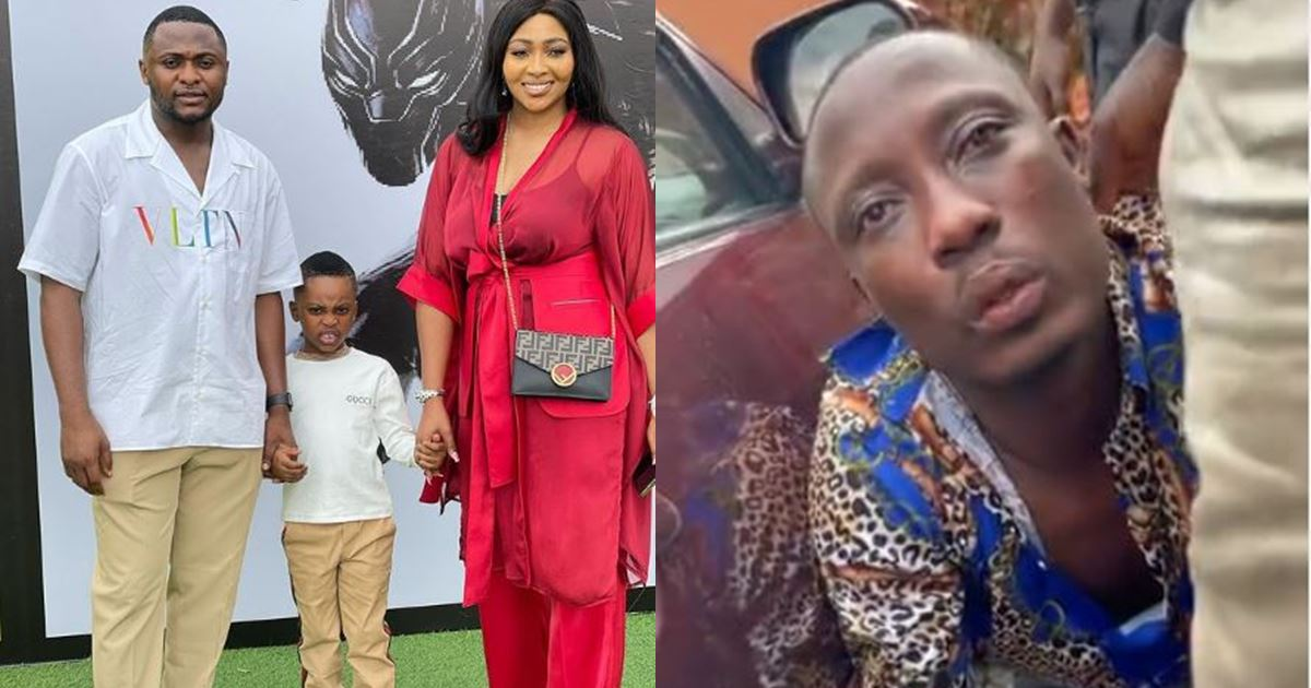 Man apprehended for allegedly stealing at Ubi Franklin's son's birthday party (Video)