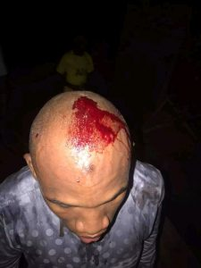 Soldier Stabs Tailor In Ibadan For 'Disrespecting Him' (Photos)