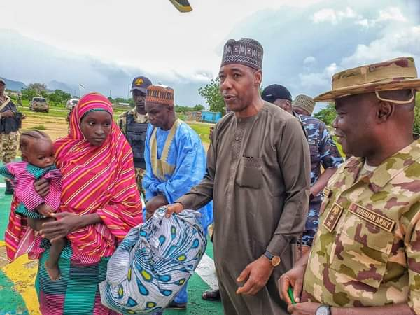 Army Rescue One Of The Abducted Chibok Girls, Hands Her Over To Borno Governor