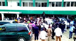 The Moment Youths Stormed Plateau Assembly, Government House With Corpses (Video)