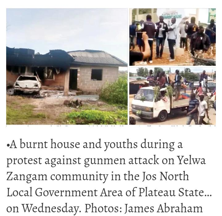 Plateau, Benue: Gunmen Kill 44, Youths Deposit Corpses At Government House