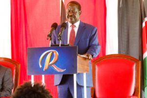 Raila, Ruto 2022 battle gears  up as Raila calls on youths to register as voters.