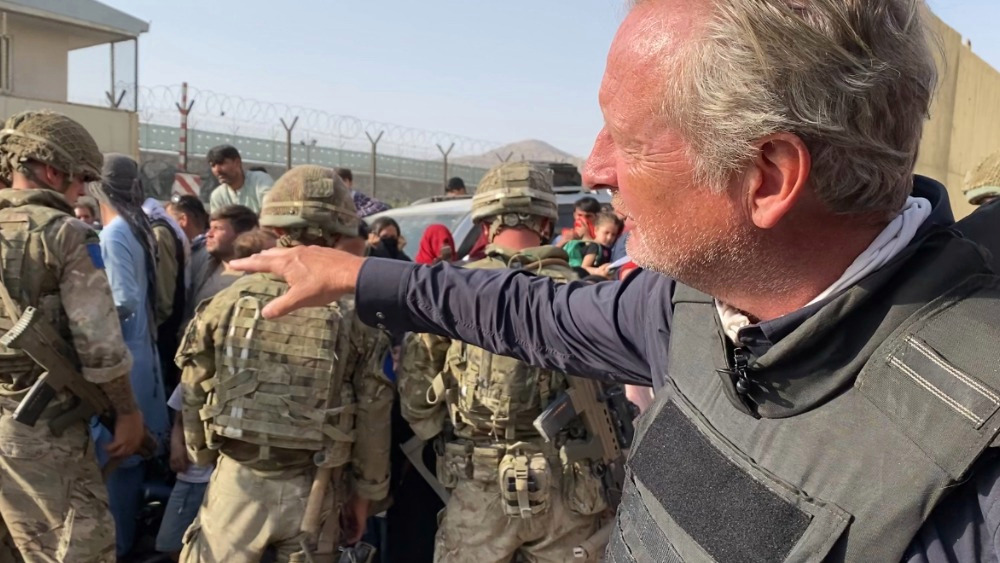 Chief Sky News Correspondent in Afghanistan on Watching History Unfold