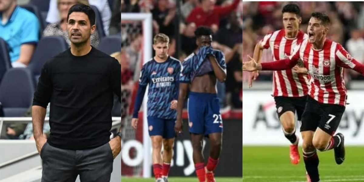 """""""Bring back Arsene Wenger"""" — Reactions as Arsenal lose to Brentford in opening day of Premier League"""