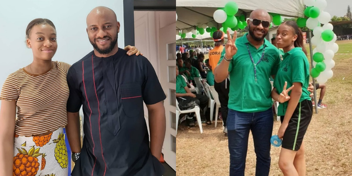 """""""I'm super proud of her, that's brilliance"""" – Actor, Yul Edochie celebrates his daughter after she scores 241 in JAMB"""