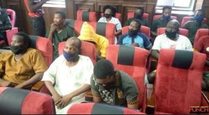 Court Grants Sunday Igboho's Aides Bail After 32 Days In DSS Custody
