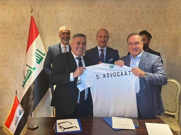 Official: Dick Advocaat Becomes The New Coach Of Iraq National Team