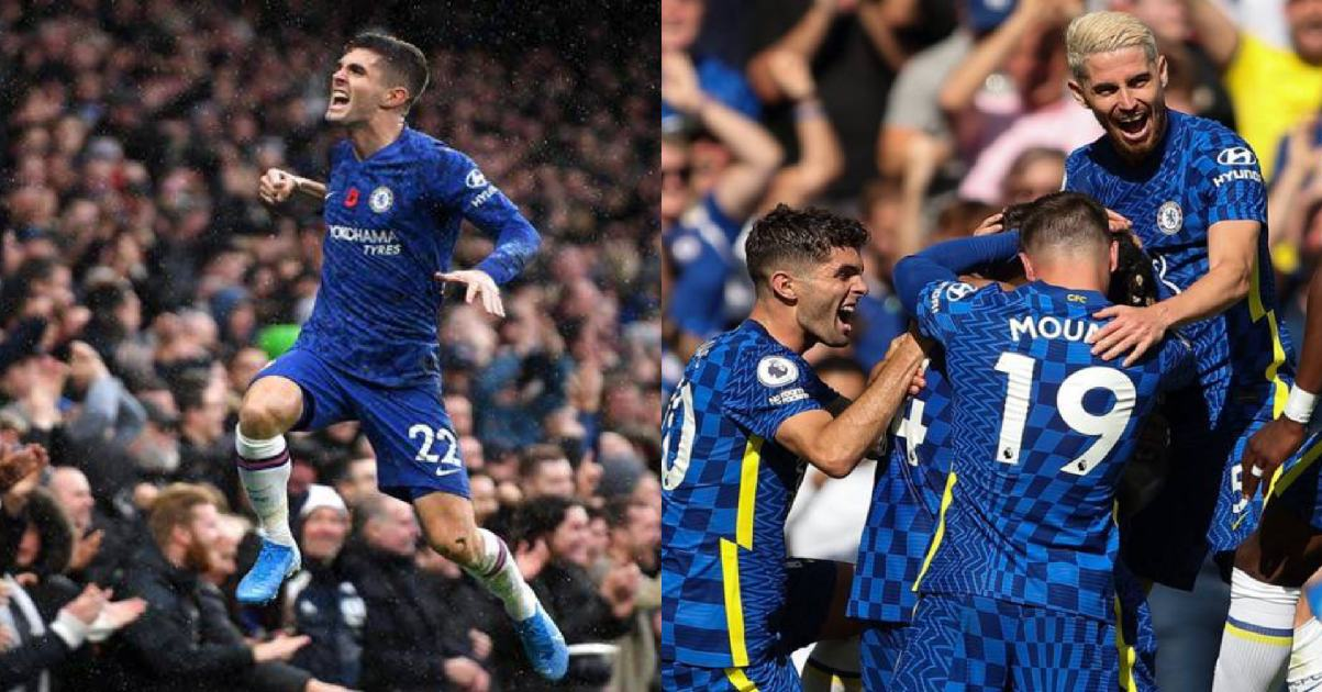 Pulisic scores as Formidable Chelsea thrash Crystal palace 3-0