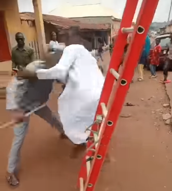 Soldier's Sons Beat Up KEDC Staff Who Tried To Disconnect Their Light Over Unpaid Electricity Bills (Video)