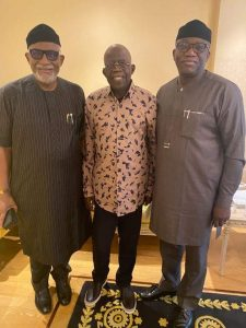 Ailing Tinubu Receives Two Governors In London On Solidarity Visit (Photo)