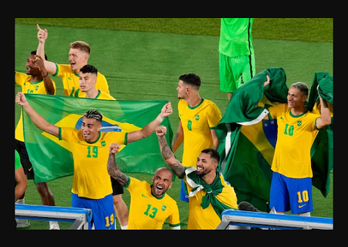 Toyko Olympics:  Brazil Defeat Spain After Extra Time To Win Second Consecutive Olympic Men's Football Gold