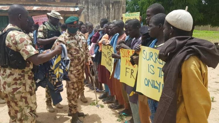 Nigerian Army Opens Up On Reports That It's Recruiting Ex-Boko Haram Fighters