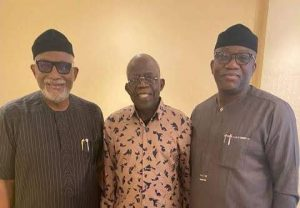 2023: Ailing Tinubu Receives Two Governors In London On Solidarity Visit (Photo)