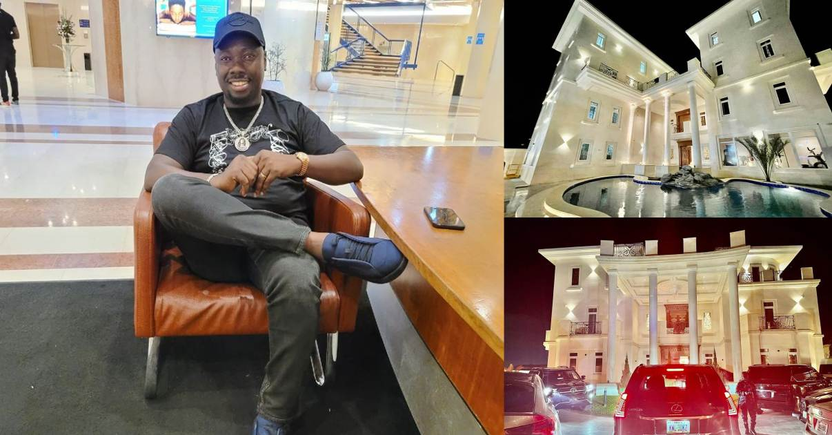 Front and rear view of Obi Cubana's mansion in Abuja (Photos)