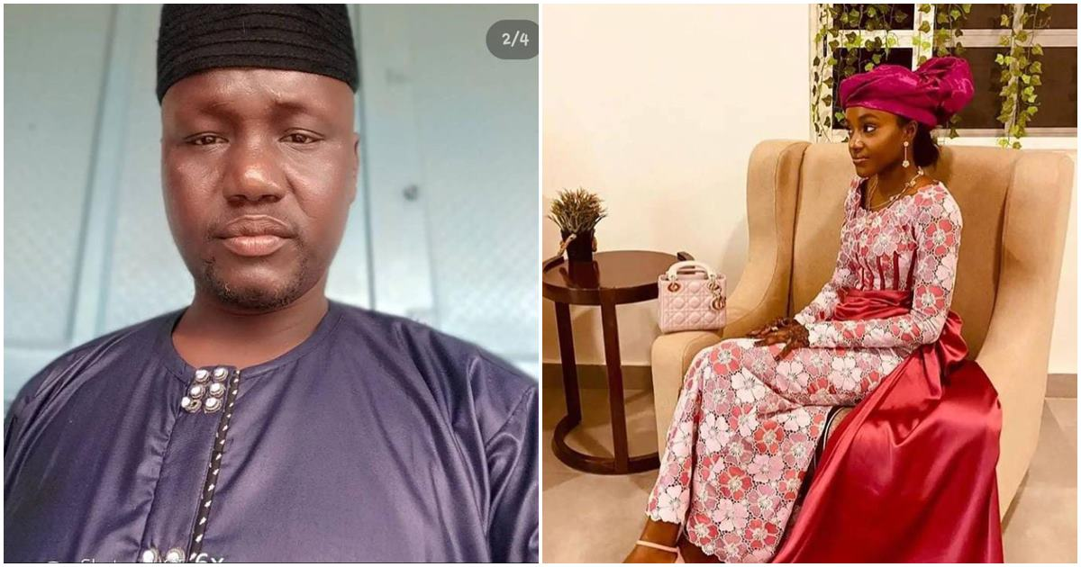 Man with 2 wives and 12 children proposes marriage to Buhari's youngest daughter, Noor