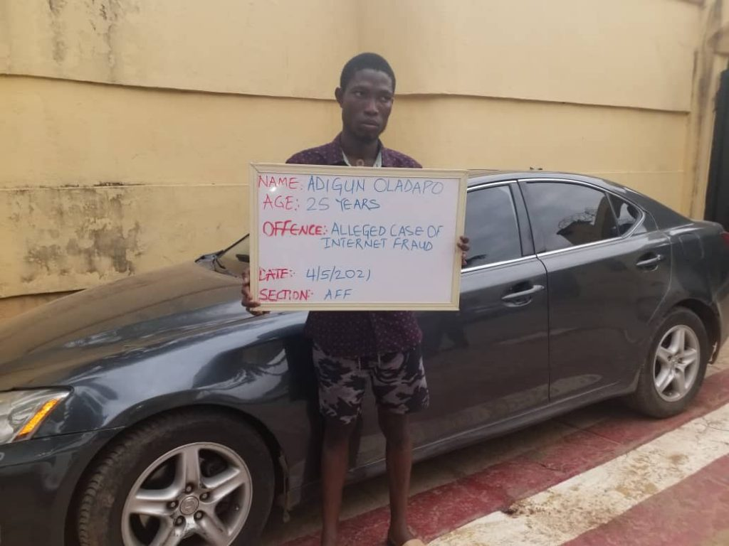 Final Year UNILORIN Student Convicted For Internet Fraud, Forfeits Lexus Car