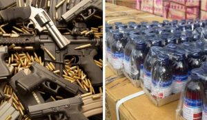 Customs Intercepts Smuggled Arms, Military Uniforms, Cocaine, Bottles Of Codeine