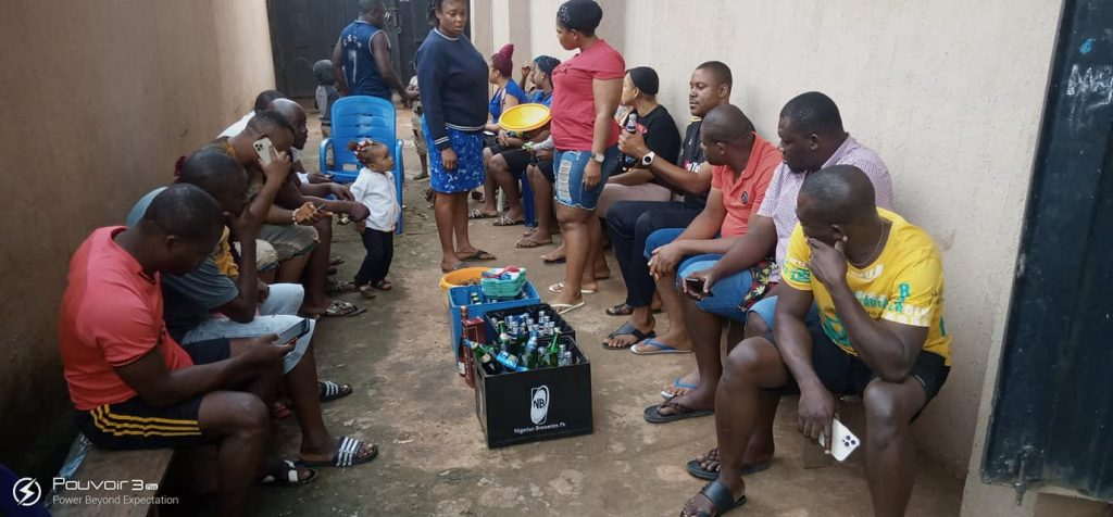 Onitsha Tenants 'Sit At Home' With Pepper Soup (Pictures)