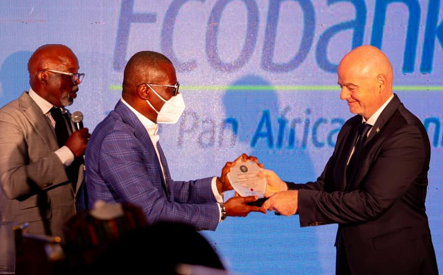 Sanwo-Olu, Dangote, Others At Dinner For Infantino (Photos)