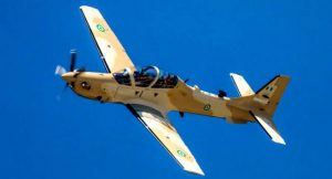 Second Bach Of A-29 Super Tucano Fighter Aircrafts Depart US For Nigeria