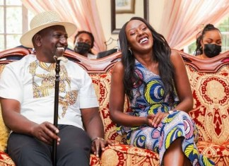 Twitter Suspends June Ruto's Twitter Account After Commenting on her father's security saga