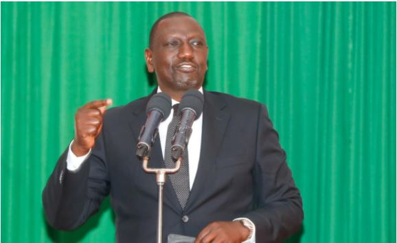 Deputy President William Ruto responds to Moses Kuria's claims on UDA party