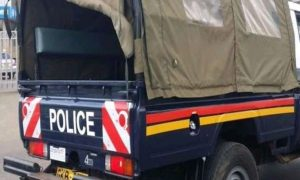 Panic as Woman collapse and dies at a police station.
