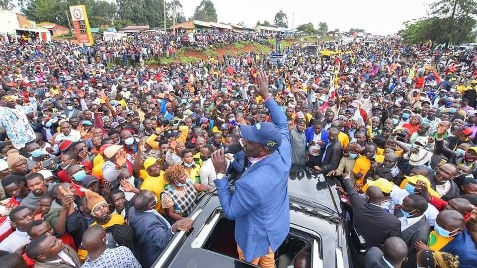 Ruto Put On The Spot As Bungoma Residents Demand That He Addresses The Recent Fuel Hike