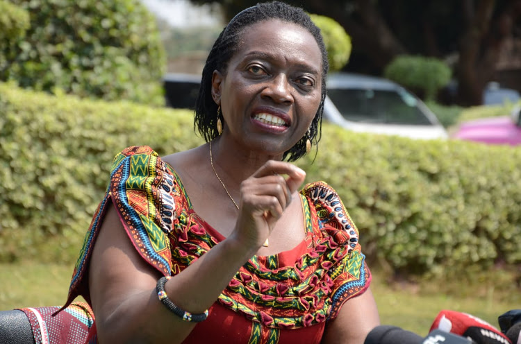 Martha Karua; withdrawal of GSU officers from DP's security detail was an act of war