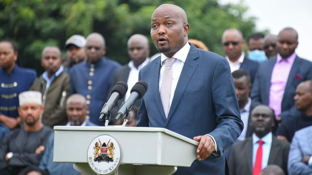 Ruto Allies Tell Moses Kuria To Join UDA Or Support Another Presidential Candidate