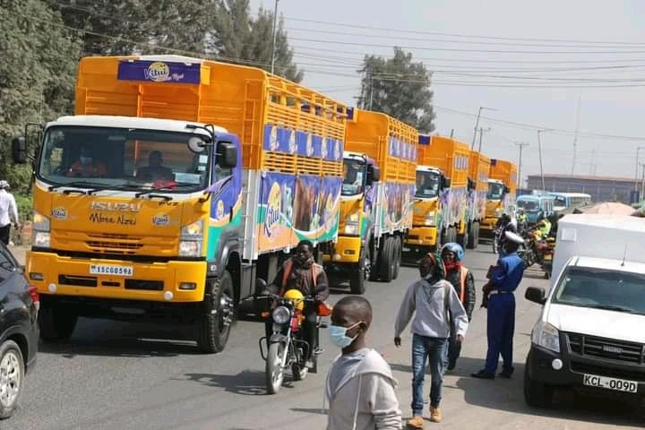 Kenyans React as Ukambani Governor Launches 'Heavy' Trucks to Be Used by Locals [PHOTOS]