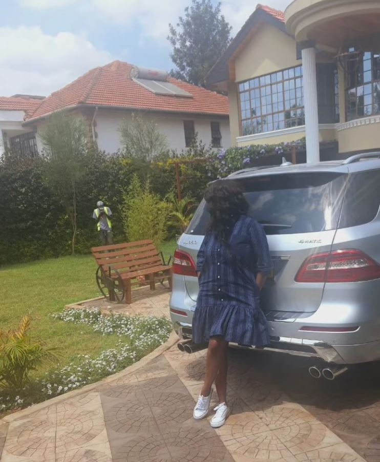 Lanes! Lilian Muli parades her fancy huge mansion for the first time (Photos)