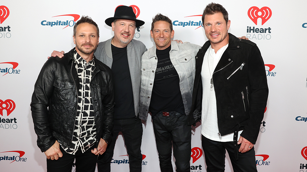 98 Degrees Members Preview 'Total Relief Live' Benefit