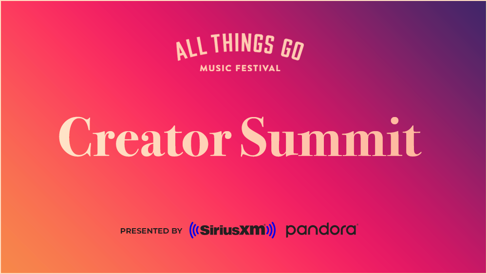 All Things Go Festival Unveils Creator Summit Lineup
